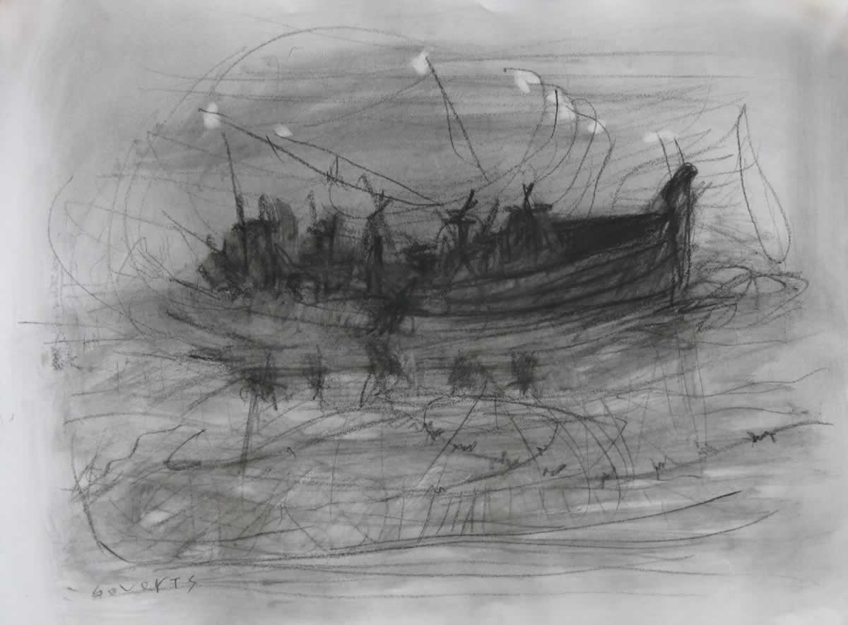 Night lights | pencil | 29x40cm | 2012