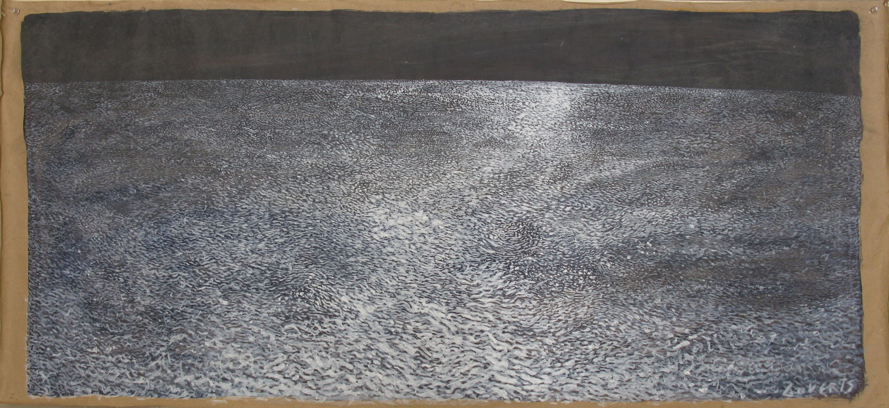 Moonscape 3 | 135x60cm | acrillic on craft