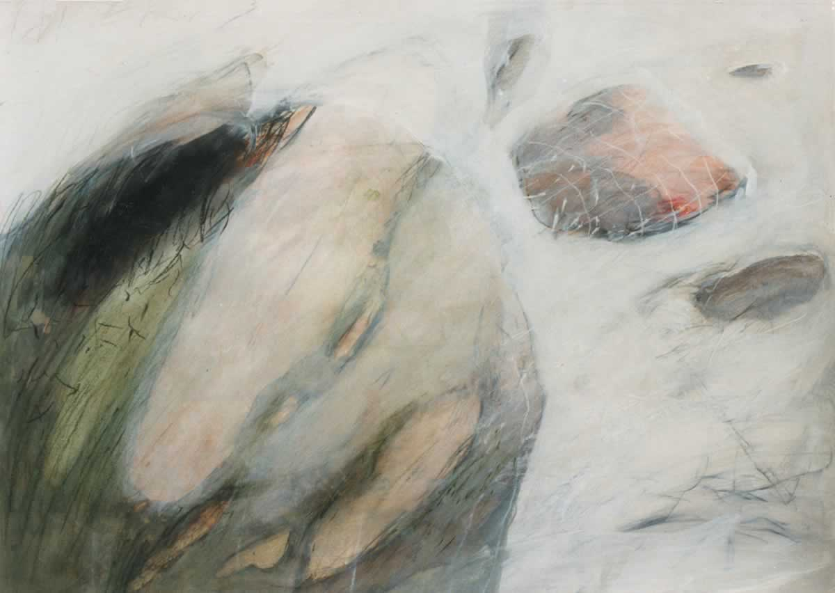 Soft rock | 60x80cm | mixed media